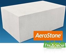 Газобетонный блок AeroStone (Аэростоун) 625*200*375