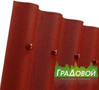 Битумный волнистый лист Ондулин Smart красный